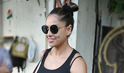 Karan Singh Grover and Bipasha Basu snapped post a spa session in Juhu - Pictures