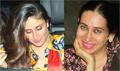 Kareena and Karisma snapped post party at Natasha Poonawala House