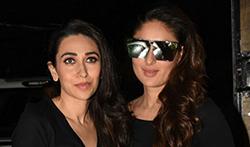 Kareena Kapoor Khan, Karisma Kapoor and their mother Babita snapped post an ad shoot - Pictures