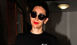 Karisma Kapoor snapped with her daughter post salon session in Bandra - Pictures