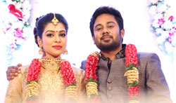Karthik - Satna Titus Wedding Reception - Pictures