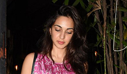 Kiara Advani snapped post a meeting in Bandra - Pictures
