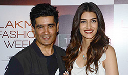 Kriti Sanon and Manish Malhotra at Lakme Model Auditions in Mumbai - Pictures
