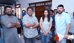 Arvind Swamy's Magic Box Production No 3 Pooja - Pictures
