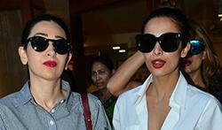 Malaika Arora, Karisma Kapoor, Amrita Arora snapped at Sequel - Pictures