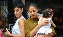 Mira Rajput and Misha Kapoor snapped post shopping in Bandra - Pictures