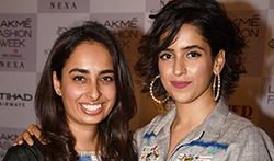 Sanya Malhotra walks the ramp for The Miraki Project at Lakme Fashion Week 2017 - Pictures