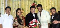 Actor Mithun Wedding Reception