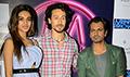Tiger Shroff, Nidhhi Agerwal and Nawazuddin Siddiqui promote Munna Michael in Delhi