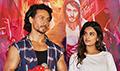 Tiger Shroff and NIddhi Agerwal at Munna Michael song launch