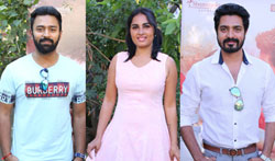 Mupparimanam Press Meet - Pictures