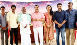Naachiyaar Movie Pooja - Pictures