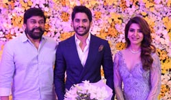 Naga Chaitanya Samantha Reception Photos - Pictures