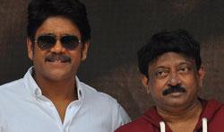 Nagarjuna RGV Film Opening - Pictures
