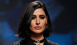 Nargis Fakhri walks the ramp at Amazon India Fashion Week in Delhi - Pictures