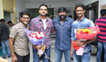 Nenjamellam Kadhal Movie Pooja