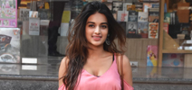Nidhhi Agerwal snapped at a book store in Bandra