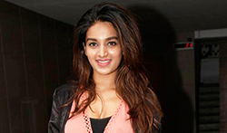 Nidhhi Agerwal snapped in Bandra - Pictures