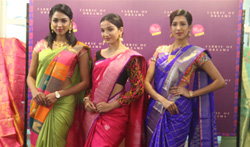 Palam Silks exhibition on Fabric of dreams - Pictures