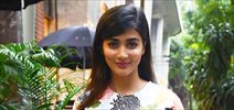 Pooja Hegde snapped at Jet Gems store at Bandra