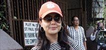 Preity Zinta snapped at a dubbing studio