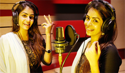 Producer Aishwarya sung a song in koothan movie - Pictures