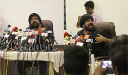 T Rajendar Press Meet on Jallikattu Issue - Pictures