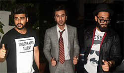 Ranbir Kapoor, Ranveer Singh, Aditya Roy Kapur and many more at Arjun Kapoor's birthday bash - Pictures