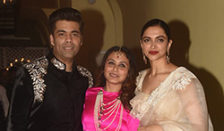 Rani Mukerji and Aditya Chopra Diwali party - Pictures