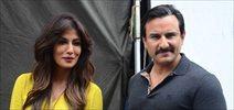 Saif Ali Khan, Chitrangada Singh and Rohan Mehra snapped on the sets of Bazaar
