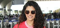 Saiyami Kher Kriti Sanon and Ameesha Patel snapped at the airport