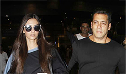 Salman Khan, Karan Johar, Sonam Kapoor, Suniel Shetty and Anil Kapoor snapped at the airport - Pictures
