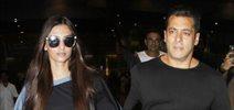 Salman Khan, Karan Johar, Sonam Kapoor, Suniel Shetty and Anil Kapoor snapped at the airport