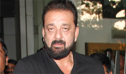 Sanjay dutt snapped at Ashutosh govariker office - Pictures