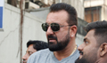 Sanjay Dutt snapped post meeting with Bhatts at Vishesh film office