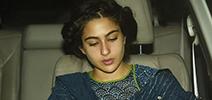 Sara Ali Khan snapped post salon session in Juhu
