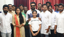 Sarath Kumar's Next venture - A Spy Thriller movie Pooja - Pictures