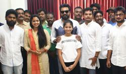Sarath Kumar's Next venture - A Spy Thriller movie Pooja - Pictures