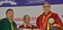 Actor Sathyaraj Receives Doctorate From Vels University