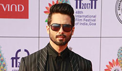Shahid Kapoor at IFFI 2017 in Goa - Pictures