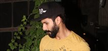 Shahid Kapoor and Mira Rajput snapped post dinner at Pali Village Cafe