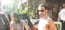 Shahid Kapoor and Mira Rajput snapped post lunch at bandra restaurant