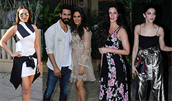 Shahid Kapoor's pre birthday bash - Pictures