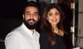 Shilpa Shetty and Raj Kundra snapped on their wedding anniversary
