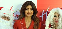 Shilpa Shetty at Hamleys christmas celebrations