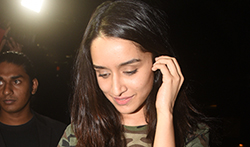 Shraddha Kapoor snapped at BKC - Pictures