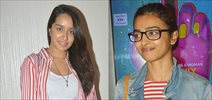 Shraddha Kapoor and Radhika Apte snapped at Lipstick Under My Burkha screening