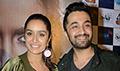 Shraddha Kapoor & Siddhanth Kapoor at Haseena Parkar media meet in Delhi