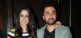 Sharadha Kapoor and Siddhanth Kapoor at Haseena Promotions