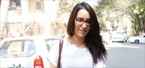 Shraddha Kapoor snapped outside Mohit Suri's office